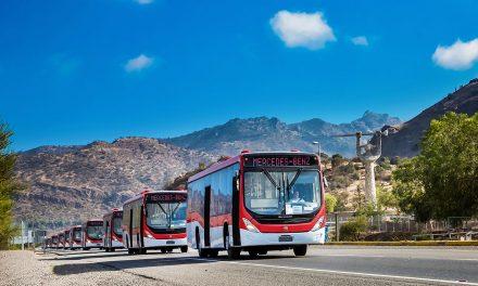 Comienza entrega de 490 nuevos autobuses Mercedes-Benz para el Transporte Público de Santiago
