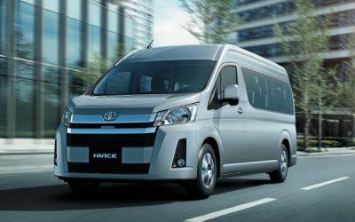 Toyota All New Hiace: La sexta generación del ícono  comercial de Toyota es más grande, más segura y  confortable