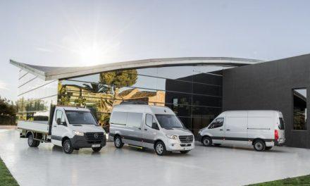 Ya está en Chile New Sprinter de Mercedes-Benz// Más versatilidad, conectividad y rentabilidad para múltiples aplicaciones