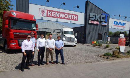 SK Comercial recibe comitiva de Paccar para alinear estrategia 2019