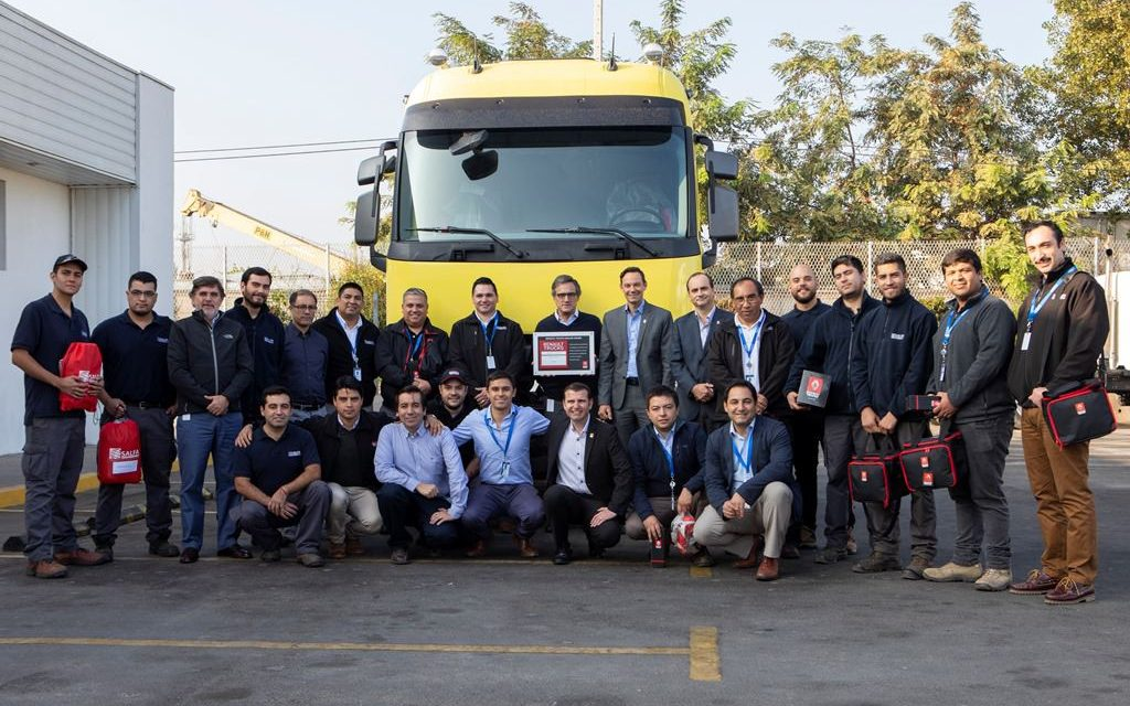 Salfa recibe premio de Renault Trucks