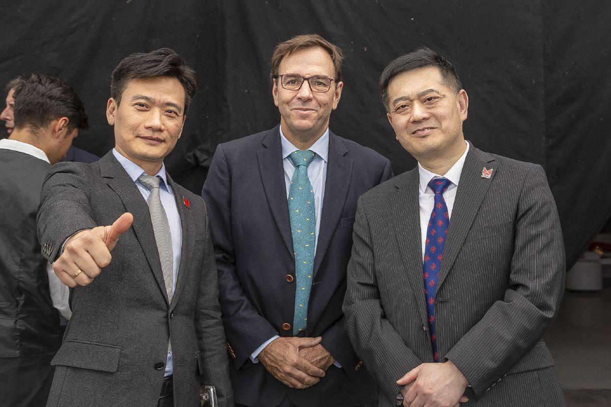 Sociales JMC Jiang Linsheng, Francisco Errázuriz, Liang Bo