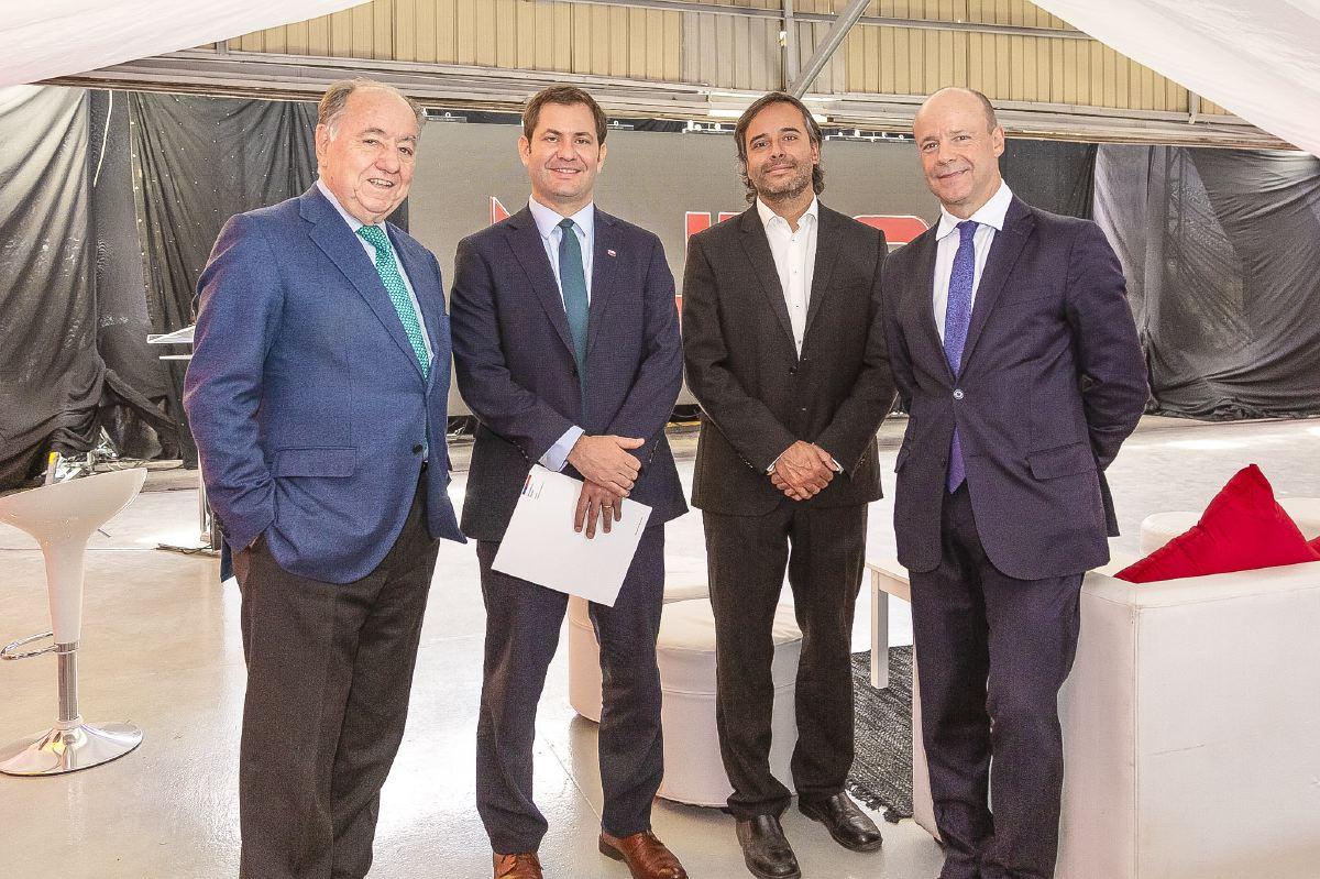 Sociales JMC Juan Eduardo Errázuriz, Sebastián Herrera, Ignacio Santelices, Juan Pablo Aboitiz