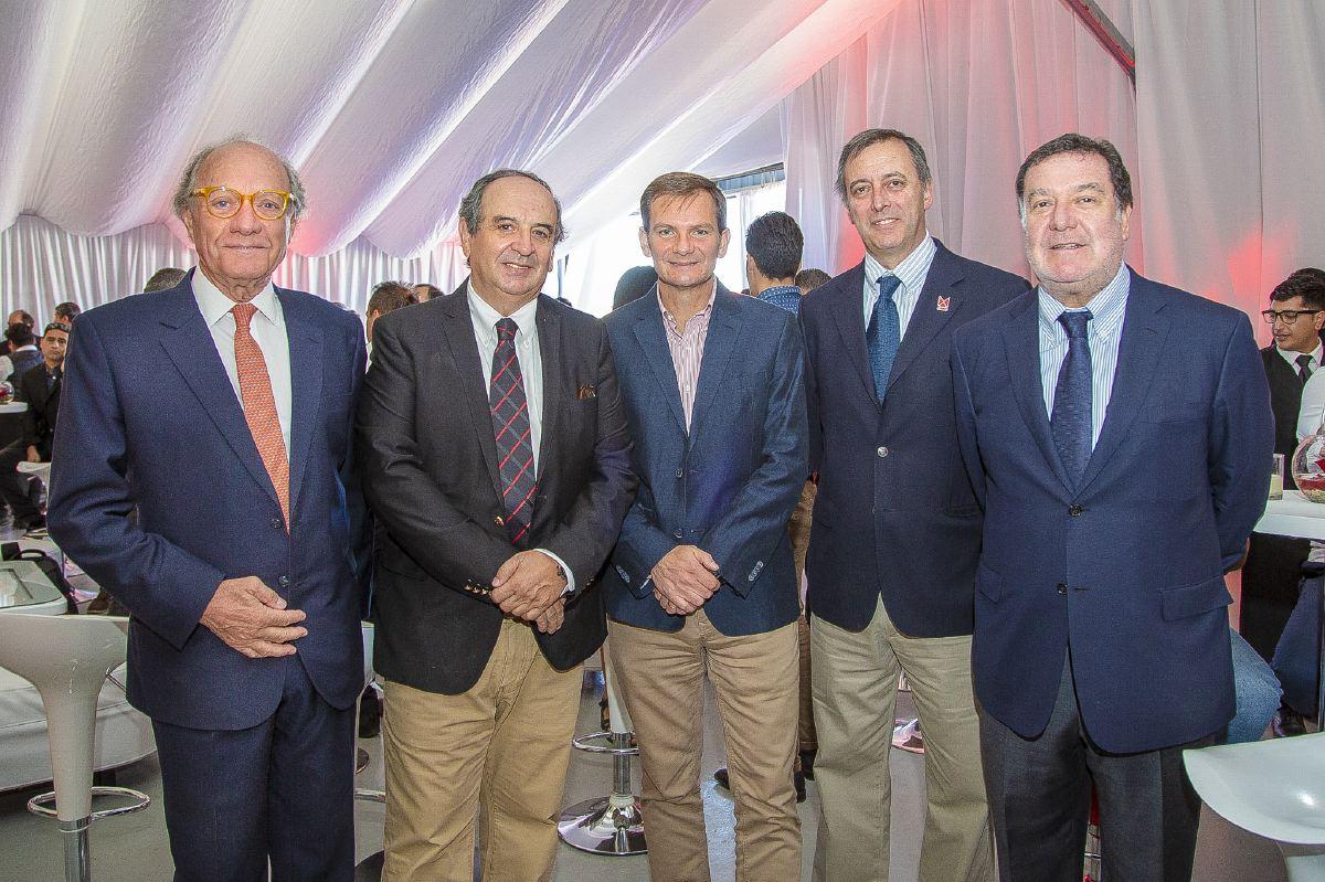 Sociales JMC Roberto Maristany, Raúl dell' Oro, Roberto Briseño, Ennio Gazzana, Guillermo Morales