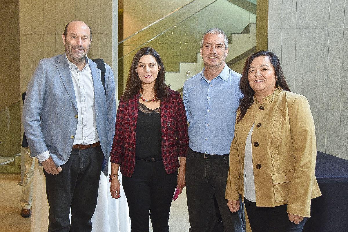 sociales JAC K7 3- Andrés Lang, Paola Espejo, Sergio Molleda y Pamela Reyes