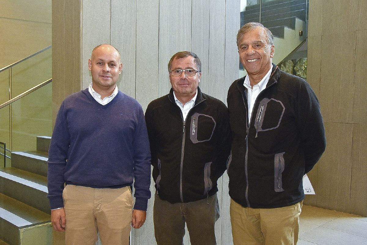 sociales JAC K7 6- Jorge León, Rodrigo Opazo y Fernando Correa
