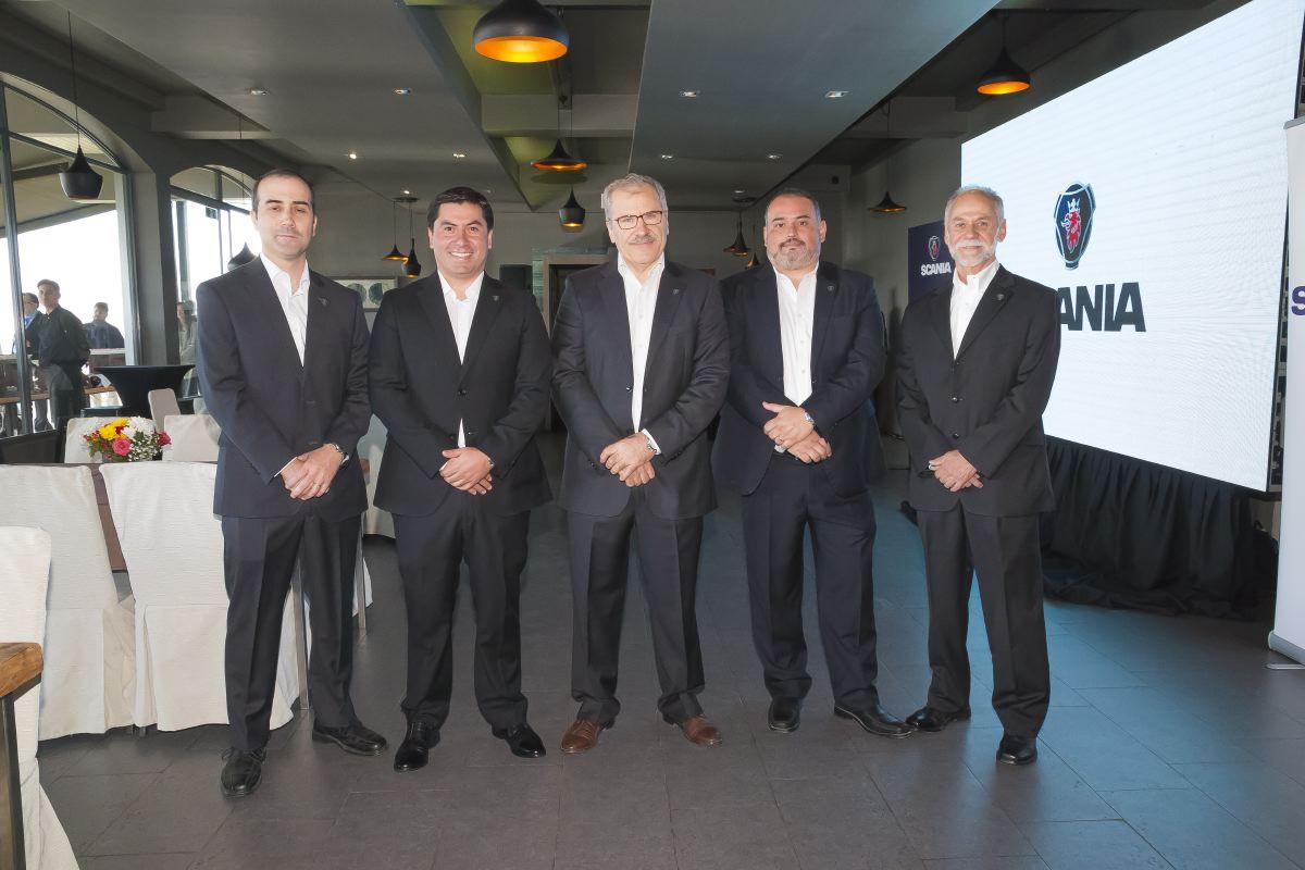 Marcel Delisle, Claudio Pinto, Pascal Zappone, Daniel Martínez y Oscar Dávila.