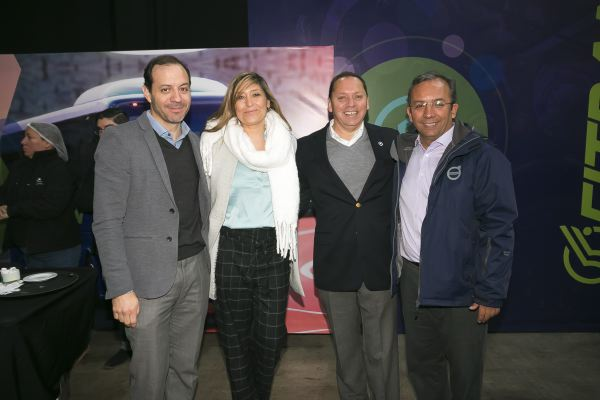 Fitran soc-Francisco Rodríguez, Marihen Palma,  Álvaro Silva y René Calderón.