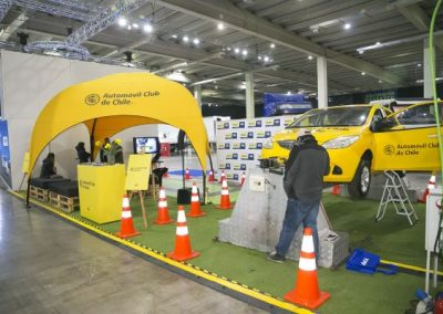 Fitran stands Automóvil Club de Chile