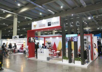 Fitran stands Indonesia TPC Santiago