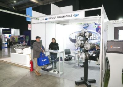 Fitran stands Master Power Chile