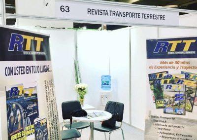 Fitran stands Revista Transporte Terrestre