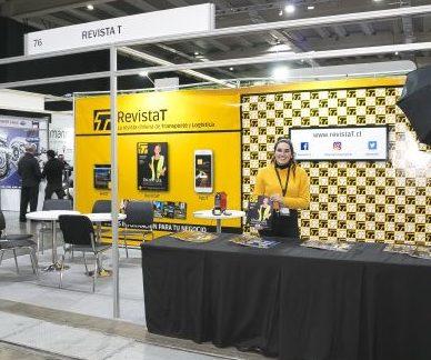 Destacada participación de RevistaT en Fitran: Siempre junto al transporte