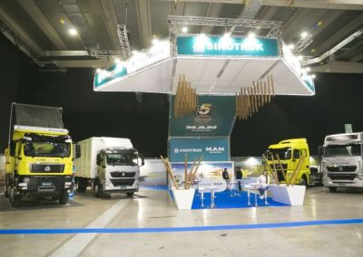 Fitran stands Sinotruk