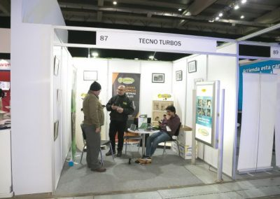 Fitran stands Tecno Turbos