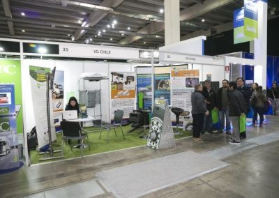 Fitran stands VG Chile