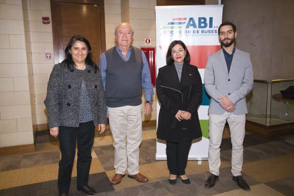 Soc ABI-Claudia Morales, Juan Eduardo Quiroz, Paola Vidal y Mauricio Sánchez.