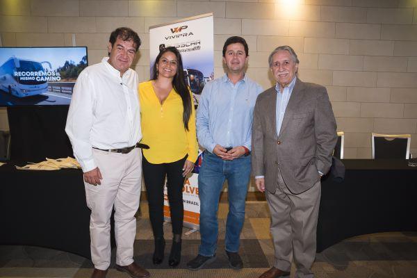 Soc ABI-Francisco Ananías, Luz Tamara Vera, Fredy Albornoz y Guillermo Pradenas.