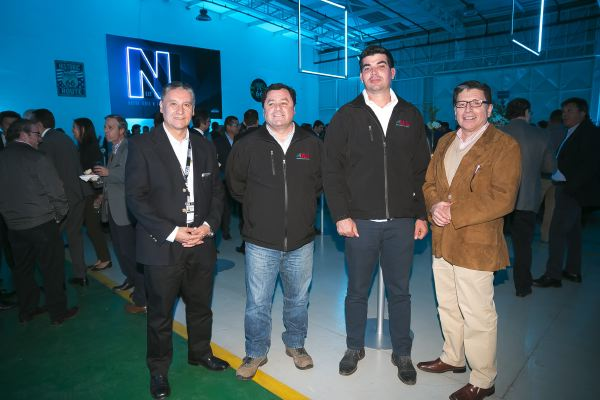 Soc Lanz GM-Marco Salazar, René Fuenzalida,  Eric Hernández y Norberto Muñoz.