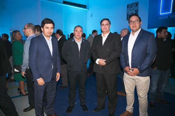 Soc Lanz GM-Miguel Galaz, Iván Chamorro,  Carlos Rencaoret y Mario Caro.