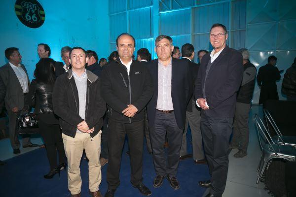 Soc Lanz GM-Benjamín Hoyl, Juan Pablo Berríos,  Franco Capurro y Joaquín Toro.