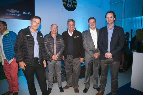 Soc Lanz GM-Gabriel Acuña, Claudio Fernández, Gonzalo Palacios, Néstor Insulza y Christian Vicherat.