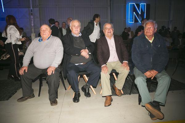 Soc Lanz GM-Sergio González, Juan Araya,  Alfonso Escribano y Martín Contreras.