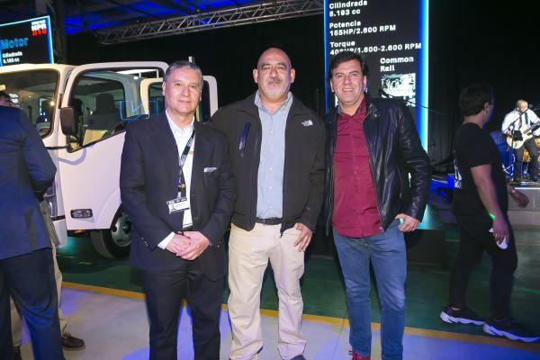 Soc Lanz GM-Marcos Salazar, Juan Pincheira  y Cristián Robles.
