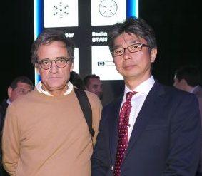 Soc Lanz GM-Carlos Fabres y Takashi Ichinose.