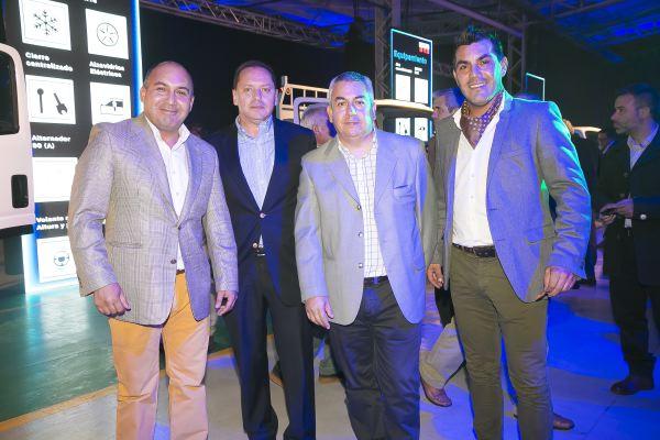 Soc Lanz GM-Francisco Betta, Alvaro Silva, Ricardo López e Italo Betta.