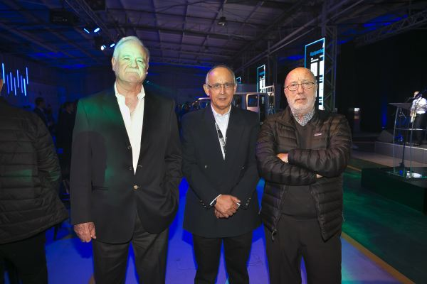 Soc Lanz GM-Gastón Dougmac, Luis Mardones y Eduardo Arueste.