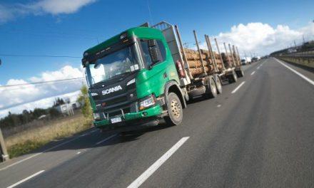 Scania P 410 B6x4 Forestal: Rudo y eficiente