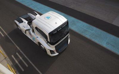 Iron Knight de Volvo: El más rápido, voló en Chile