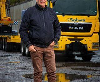 Luciano Bohme, Grúas Bohme: Visionario peso pesado
