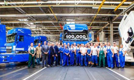 Daf alcanza producción de 100.000 modelos CF y XF