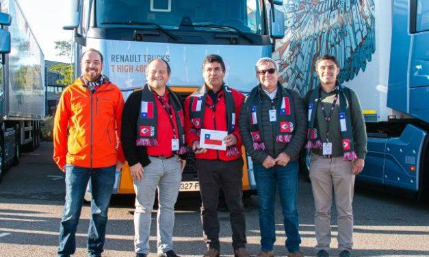 Chileno participó en la final mundial del Renault Trucks Optifuel Challenge: Entre los 25 mejores del mundo