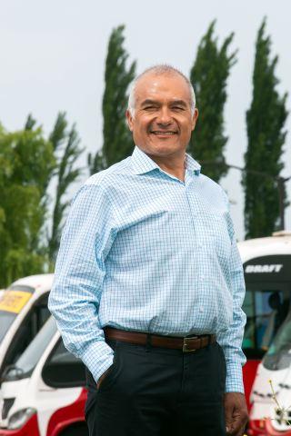 """José Zúñiga, Cordillera Bus // """"A mi empresa la veo como un hijo"""""""