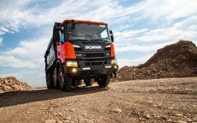 Scania P 450 B8x4 XT  // Pensado para exigirlo al máximo