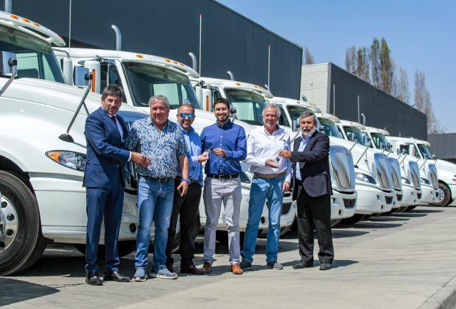 Agreducam Rancagua suma camiones International