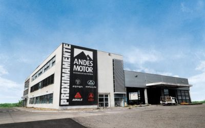 Andes Motor invierte US$ 6 millones en nuevas oficinas