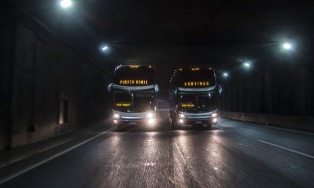 Presente del transporte interurbano // Ruta sinuosa
