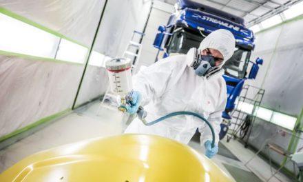 Scania logra reducir su impacto ambiental por medio de gestiones sostenibles en su nuevo taller de reparaciones de siniestros