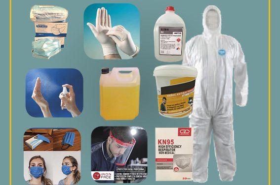 Tenemos todos los productos para proteger tu empresa de la pandemia
